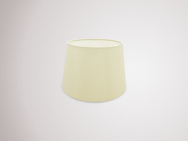 Deco Sutton D0297 30cm Ivory Pearl Faux Silk Fabric Shade With White Laminate Inner