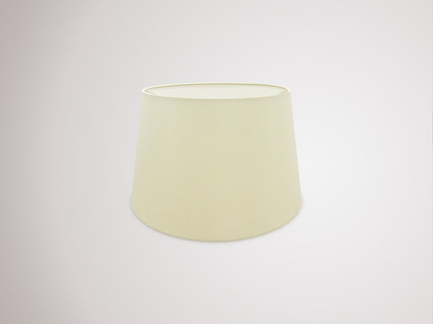 Deco Sutton D0298 35cm Ivory Pearl Faux Silk Fabric Shade With White Laminate Inner