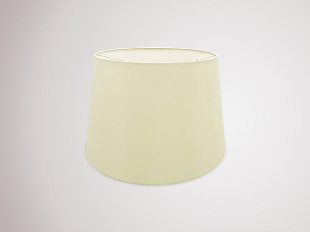 Deco Sutton D0299 40cm Ivory Pearl Faux Silk Fabric Shade With White Laminate Inner