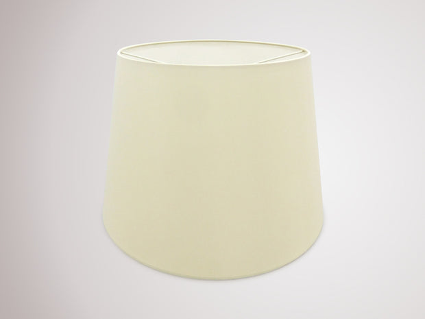 Deco Sutton D0300 45cm Ivory Pearl Faux Silk Fabric Shade With White Laminate Inner