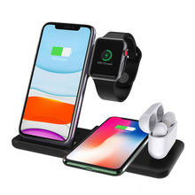 Load image into Gallery viewer, 3 in 1 Wireless Charger Stand