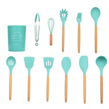 Load image into Gallery viewer, Silicone Kitchen Cooking Utensils