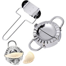 Load image into Gallery viewer, 2pcs Stainless Steel Dumpling Maker