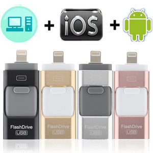 USB DRIVE FOR IPHONE, IPAD & ANDROID
