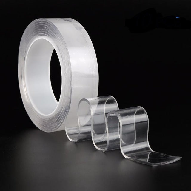 Reusable Double Sided Adhesive Nano Magic Tape
