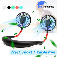 Load image into Gallery viewer, USB Portable Hanging Sport Fan