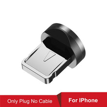 Load image into Gallery viewer, USLION New Updated Magnetic Cable Fast Charging Micro USB Type C Mobile Phone Cable For Samsung iPhone 360+180 Degree Roating
