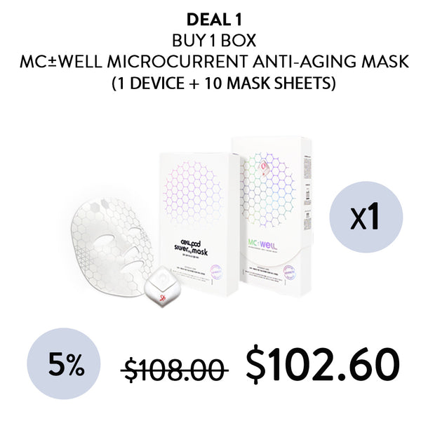 [MC±WELL] Micro-Current Anti-Aging Maskpack