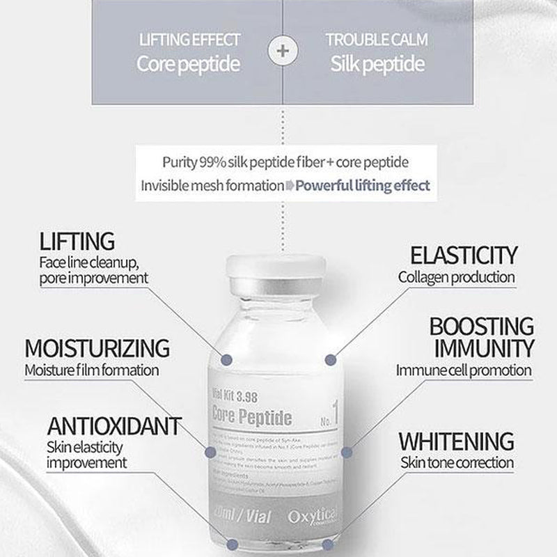 [OXYTICAL] Vial Kit 3.98 Core Peptide 20ml
