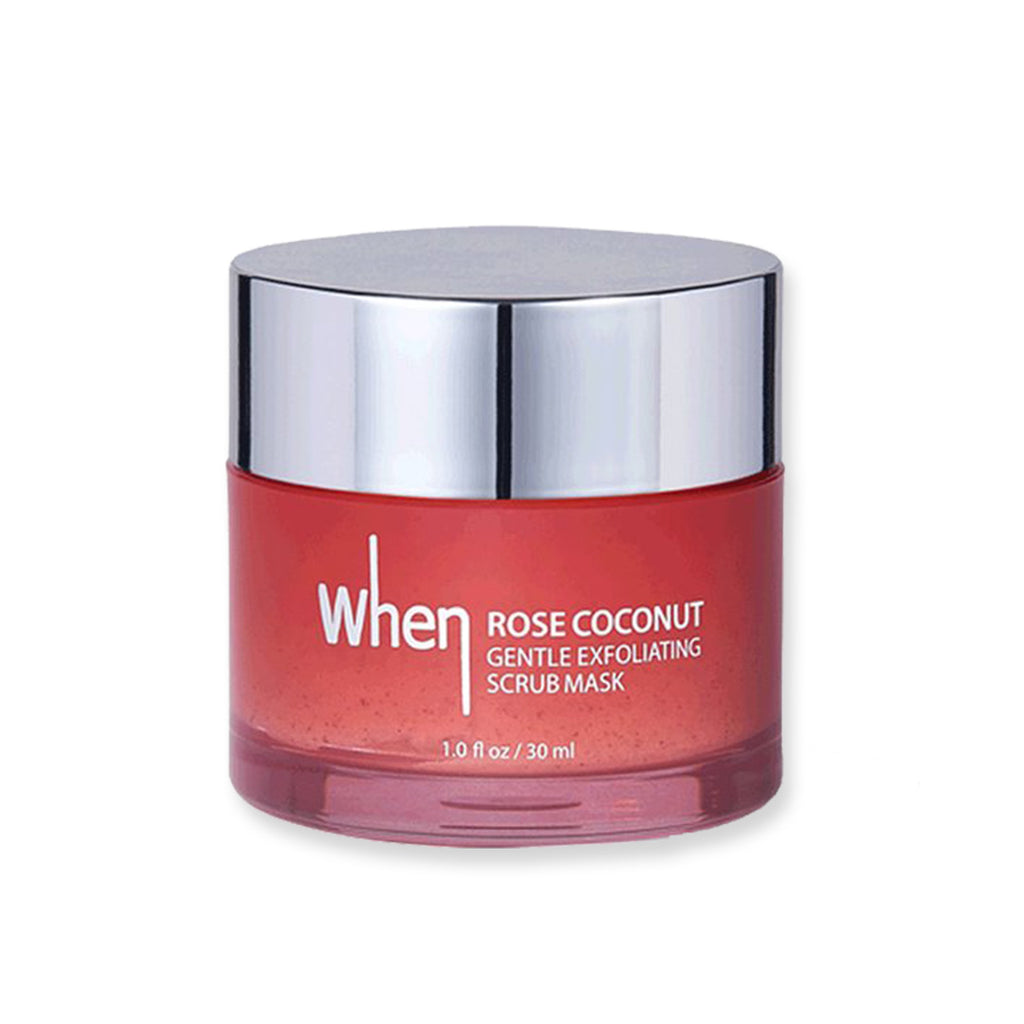 [When]Beauty Rose Coconut Gentle Exfoliating Scrub Mask 30ml/100ml