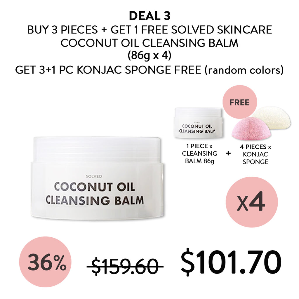 [SOLVED] Coconut Oil Cleansing Balm 86g