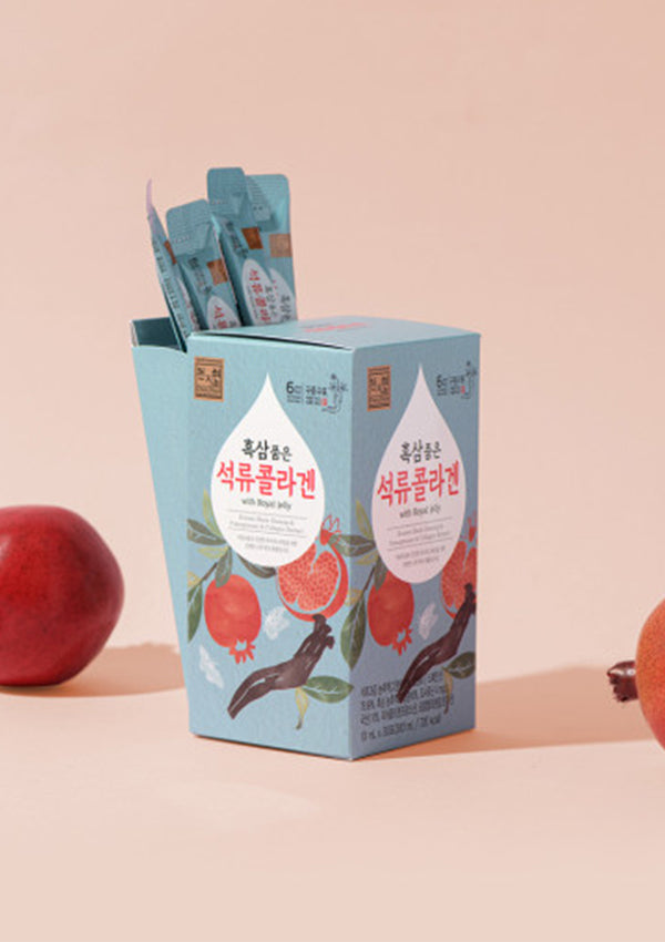 [CHEONJIHYUN] Pomegranate Collagen with Black Ginseng 30/90 Sticks