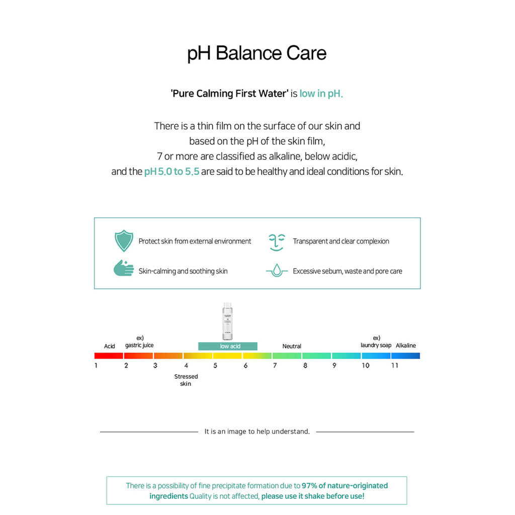 [BY ECOM] Pure Calming First Water Limited 210ml
