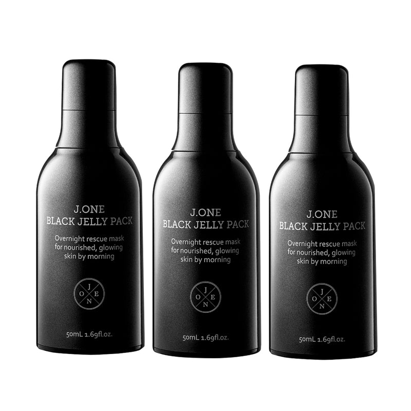 [J.ONE] (3+1 Free) White / Black / Red Jelly Pack 50ml