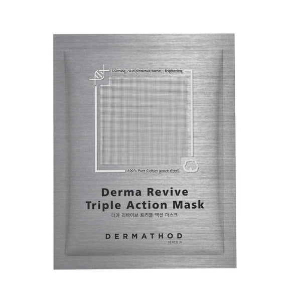 [DERMATHOD] Derma Revive Triple Action Mask