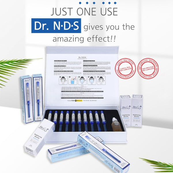 [DR.NDS] Hydrogel Lifting Mask & Brightening Booster Ampoule Kit