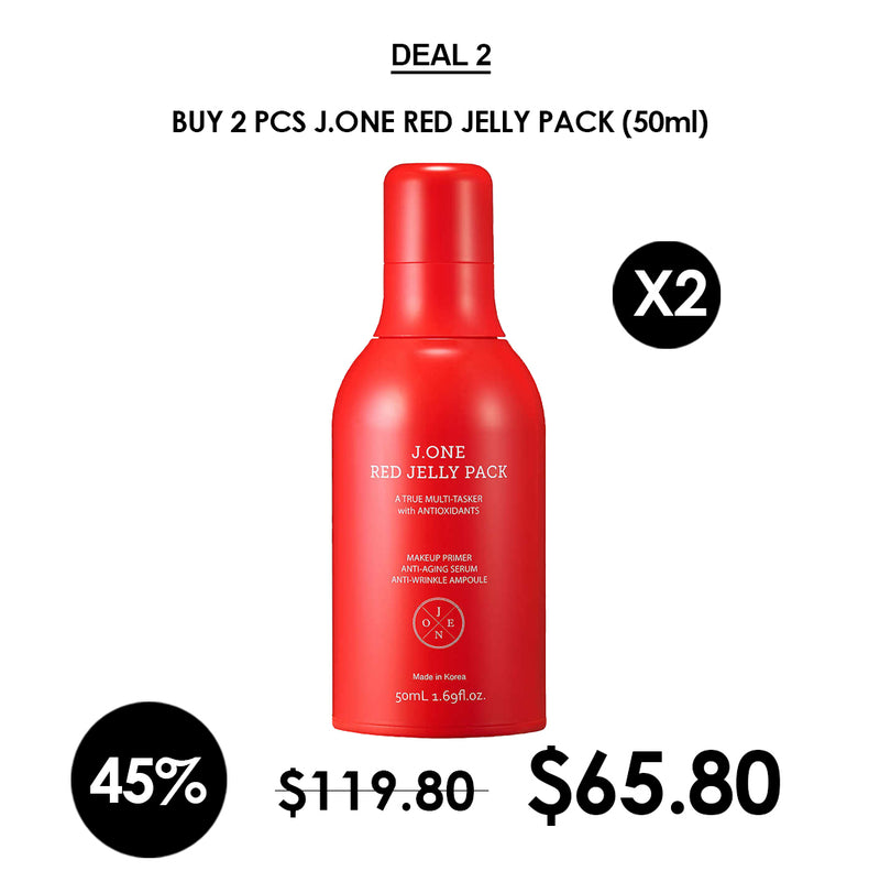 [J.ONE] Red Jelly Pack 50ml
