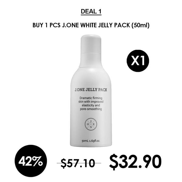 [J.ONE] White Jelly Pack 50ml