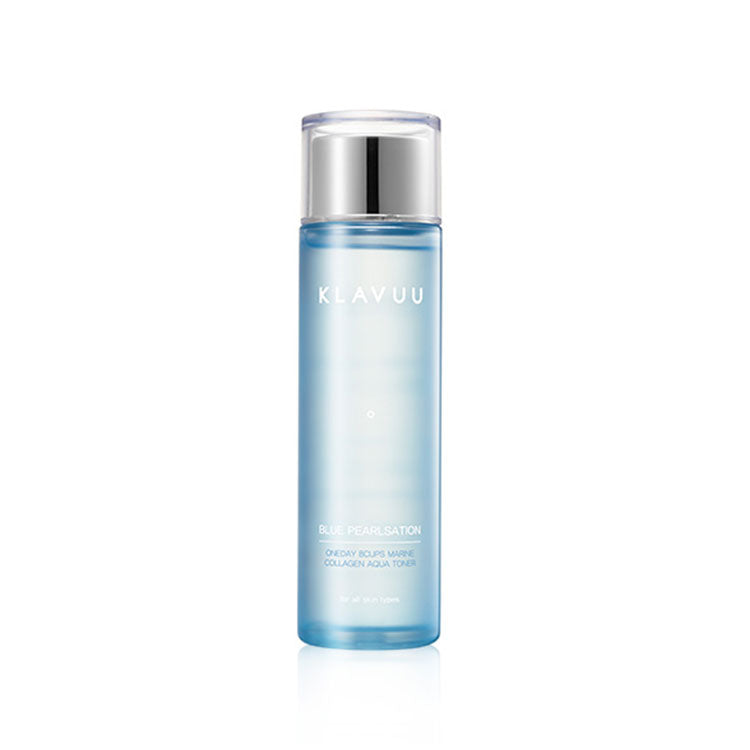 [Klavuu] Blue Pearlsation One Day 8 cups Marine Collagen Aqua Toner 140ml