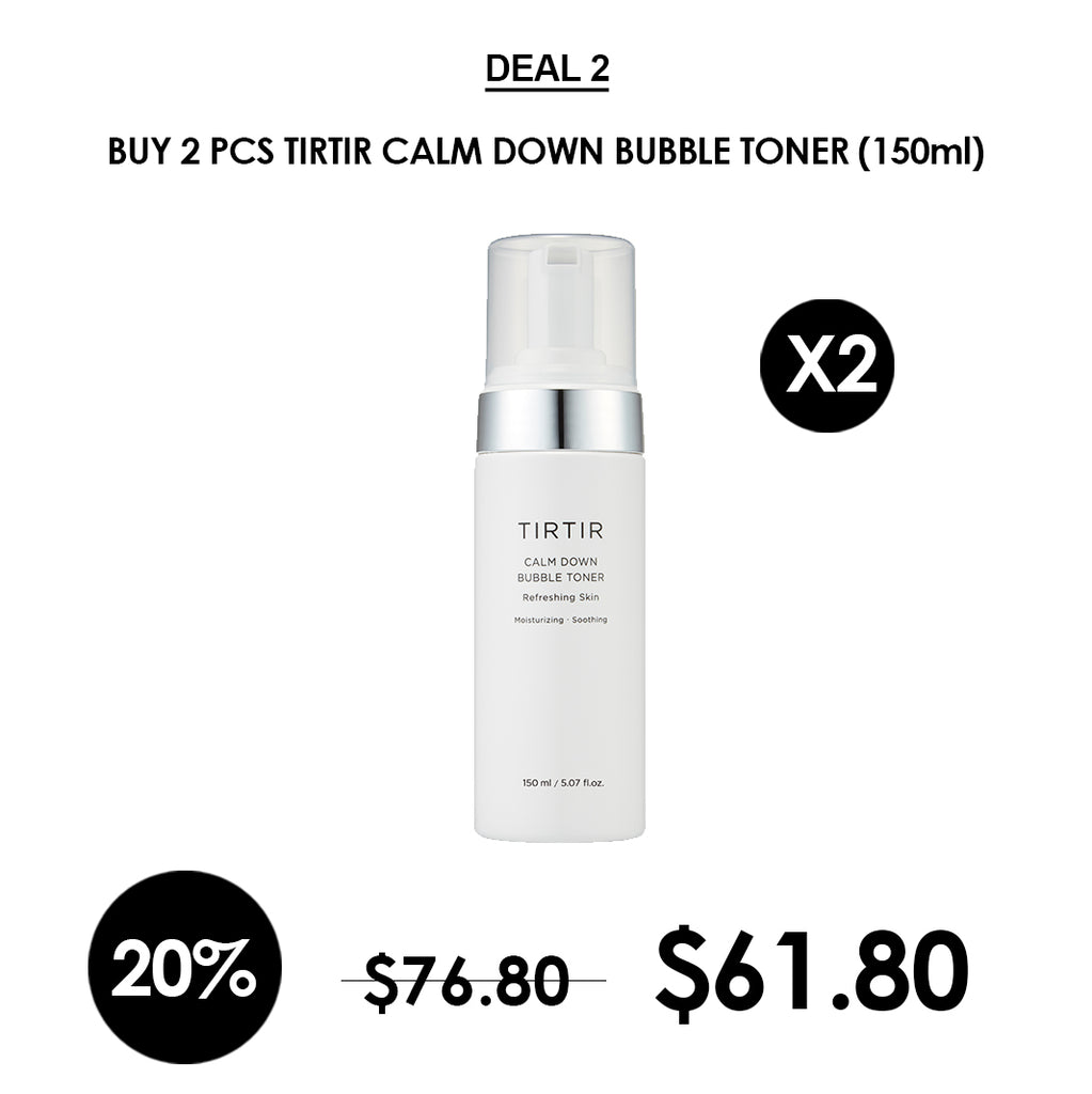 [TIRTIR] Calm Down Bubble Toner 150ml