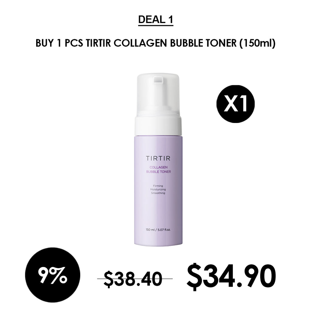 [TIRTIR] Collagen Bubble Toner 150ml