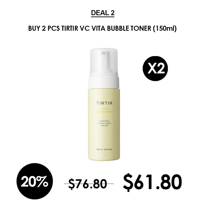 [TIRTIR] VC Vita Bubble Toner 150ml