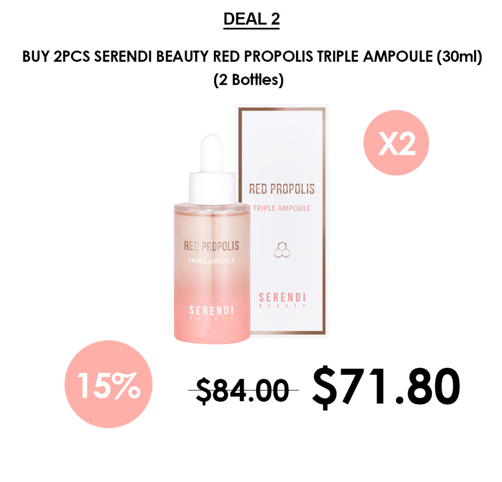 [Serendi Beauty] Red Propolis Triple Ampoule 30ml