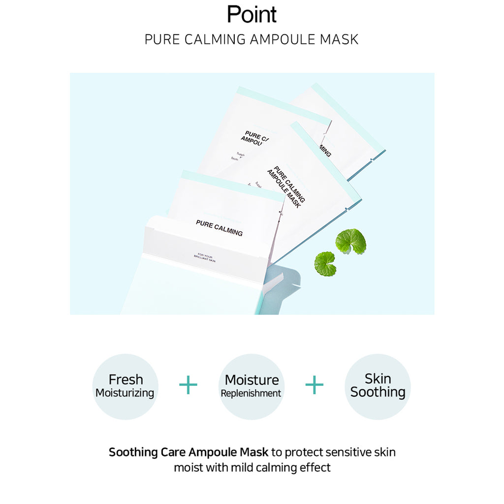 [BY ECOM] Pure Calming Ampoule Mask 25ml