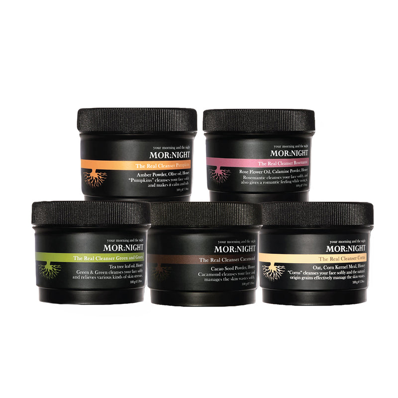[MOR:NIGHT] (4+1 FREE) The Real Cleansers 100g