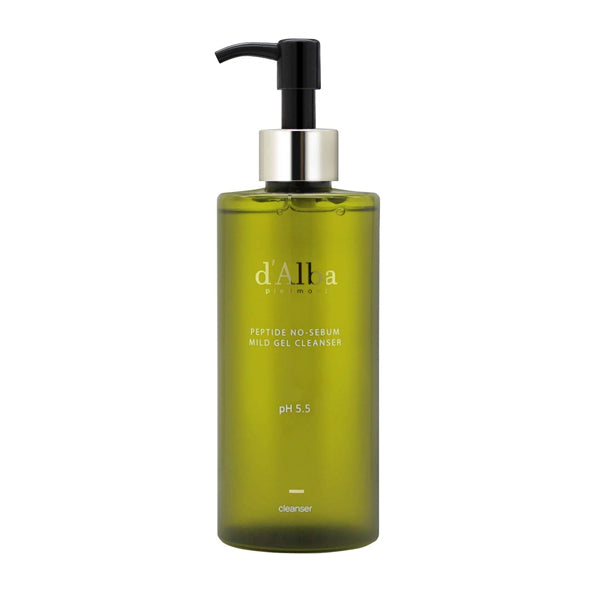 [d'Alba] Peptide No Sebum Mild Gel Cleanser 300ml