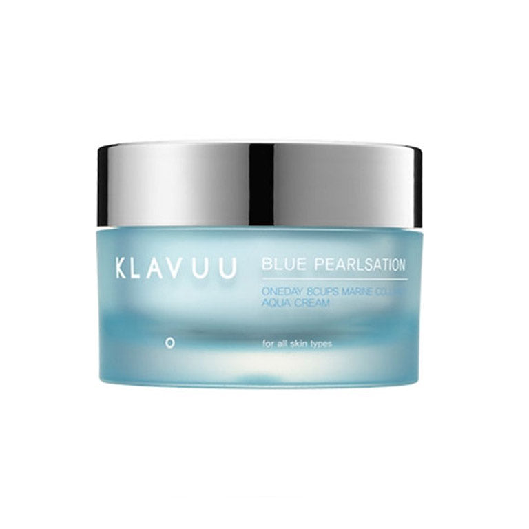 [Klavuu] Blue Pearlsation One day 8 Cups Marine Collagen Aqua Cream 50ml