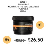 [MOR:NIGHT]The Real Cleanser PUMPKINS 100g