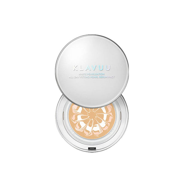 [KLAVUU] White Pearlsation All Day Fitting Pearl Serum Pact SPF50+ PA+++ 12.5g