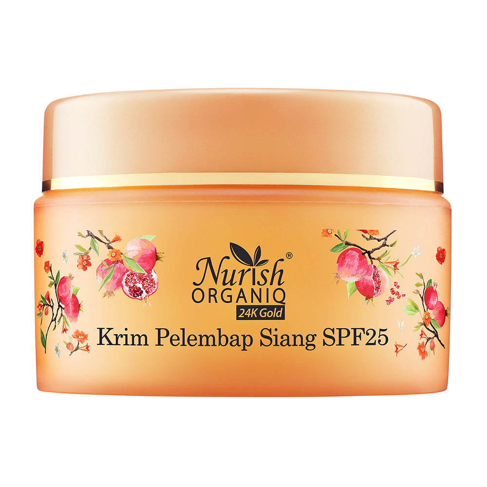 Nurish Organiq 24K Gold Moisturising Day Cream SPF25