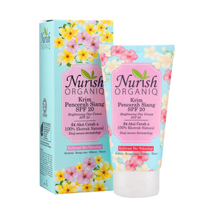 Nurish Organiq Brightening Day Cream SPF20 40ml