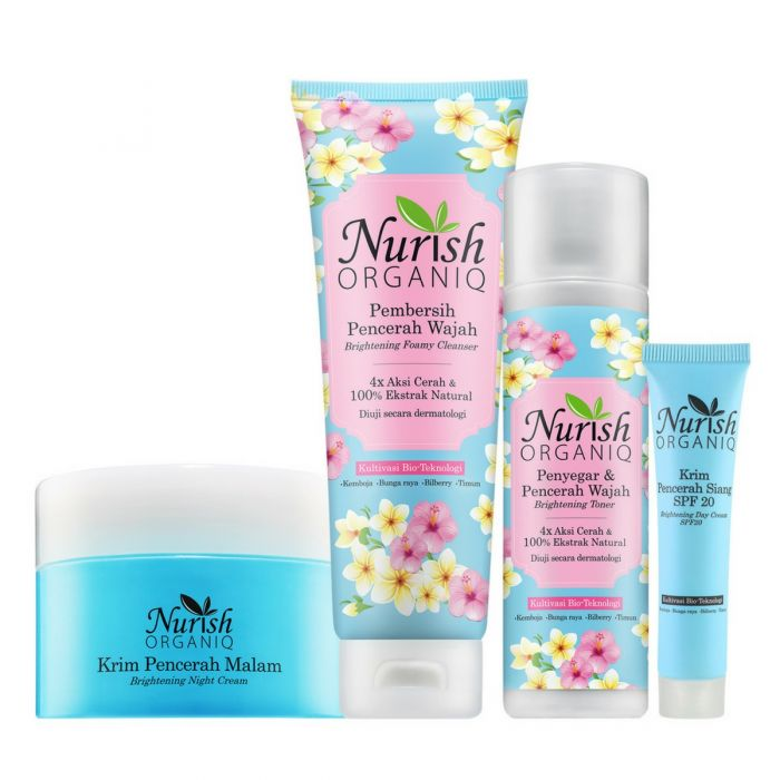 Nurish Organiq Brightening Night Set II
