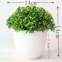 1pc Artificial Plants Bonsai Small Tree Pot Plants Fake Flowers Potted Ornaments For Home Decoration Hotel Garden Decor Bonsai - Satisfashion.ca