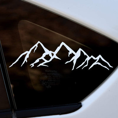 Mountain Decal Single - Finishing Touch Vinyl Art