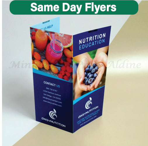 Next Day Brochure | Minuteman Press Houston