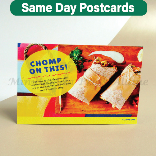 Next Day Postcards Printing | Minuteman Press Houston