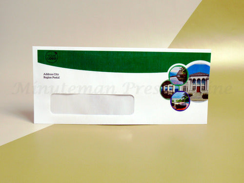 "<img src=""10-Window-Envelope.jpg"" alt=""Custom Printed #10 Window Envelopes with colored background on top and right side"">"