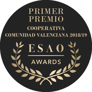Load image into Gallery viewer, primer premio cooperativa comunidad valenciana 2018 ESAO olive oil awards