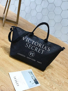 2020 New Fashion Brand Women's Bags Super Big Bag Large-capacity Simple Wild Oxford Cloth Sequins Travel Bag Gold Silver Black