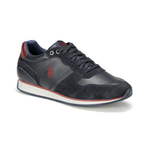 FLO MAC WT 9PR Navy Blue Men 'S Shoes U.S. POLO ASSN.