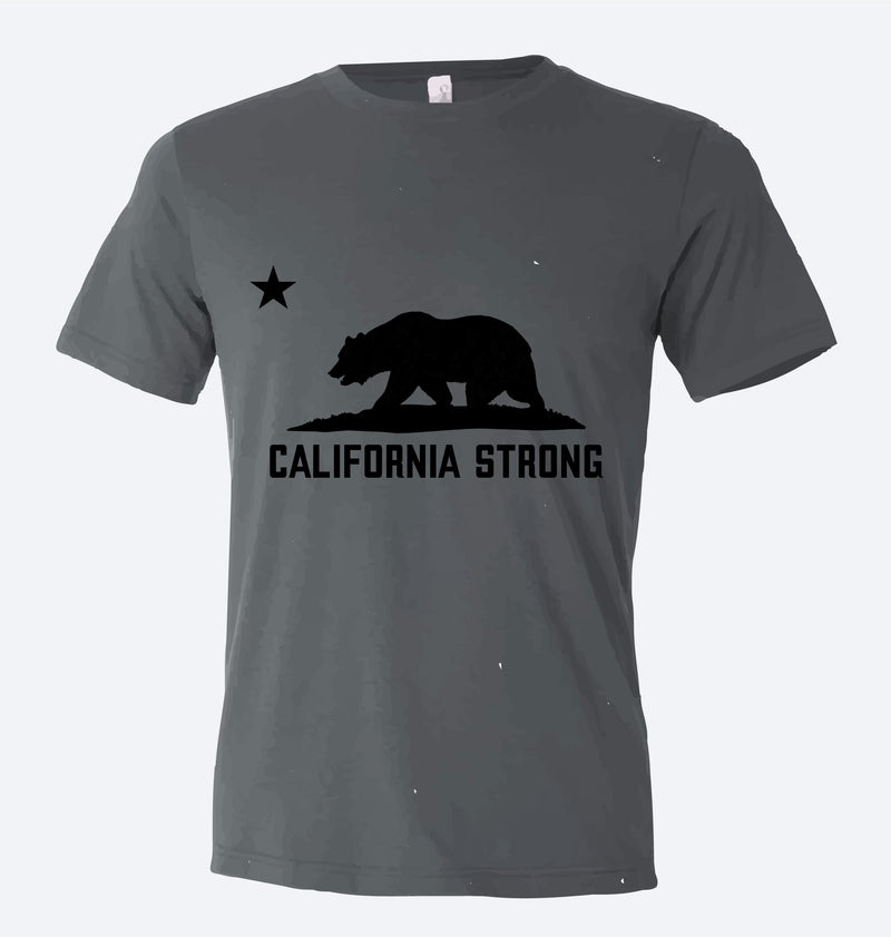 #CaliforniaStrong with the California Bear T-Shirt
