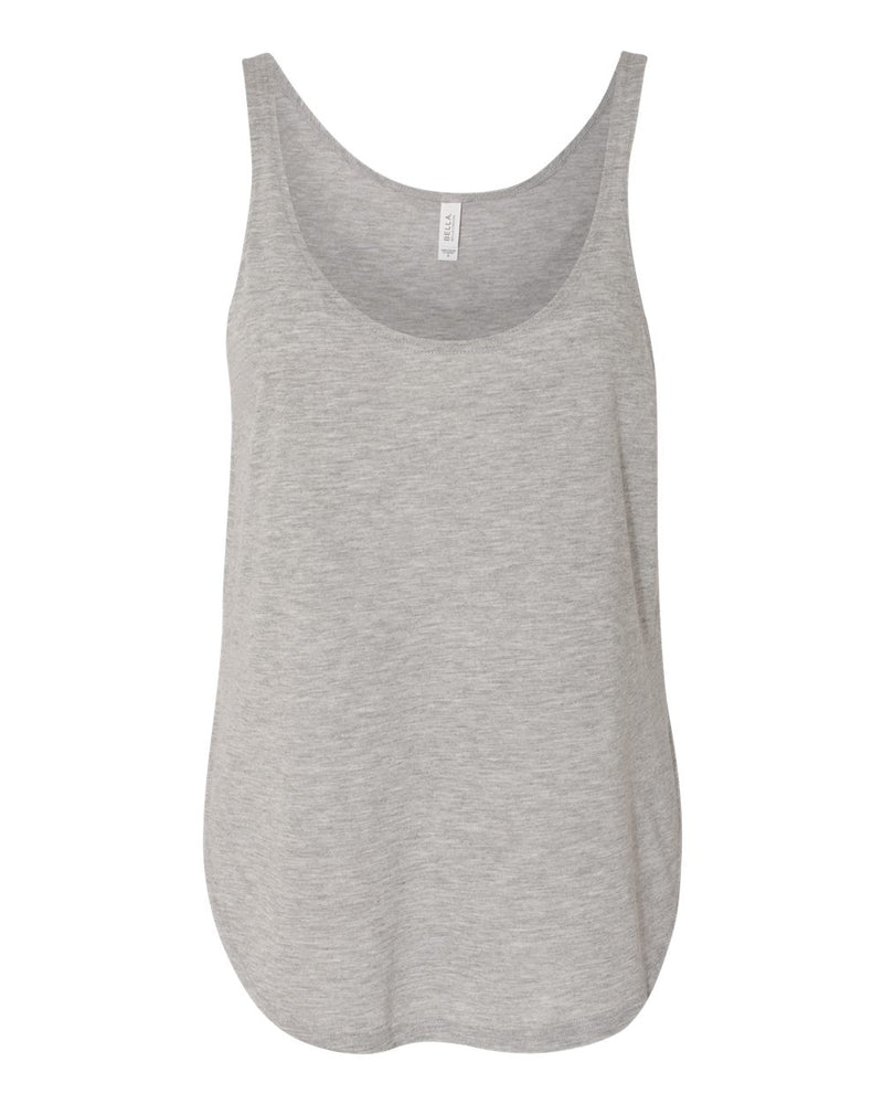 BELLA + CANVAS - Women's Flowy Tank with Side Slit - 8802
