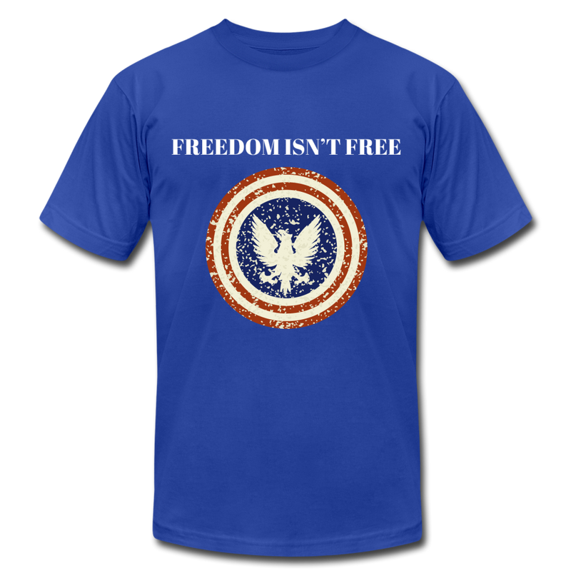 Freedom Isn't Free - royal blue