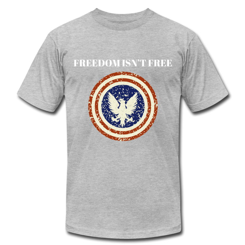 Freedom Isn't Free - heather gray