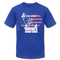 Liberty Lady Loves America - royal blue