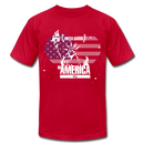 Liberty Lady Loves America - red
